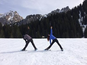 3 Day Weekend Snowshoe and Yoga Holiday in Bellevaux, French Alps