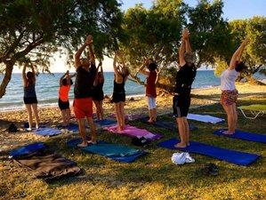 8 días vacaciones de bienestar, yoga y senderismo en Kos, Grecia