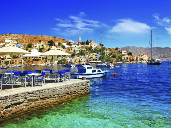 8 Days Women's Empowerment Yoga Retreat Symi, Greece