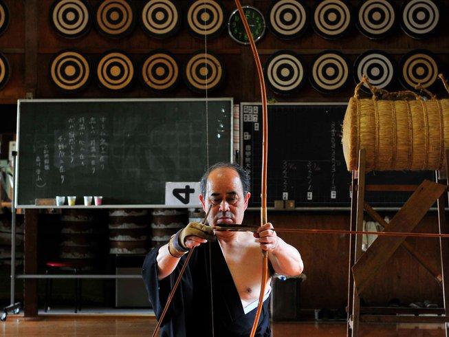8 Days Kyudo Martial Arts Training in Japan