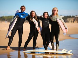 5 Day High-Level Surf Camp Course at a Surf Resort in Aljezur, Algarve