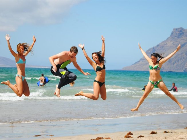 8 Days Surf and Yoga Retreat in Lanzarote, Spain