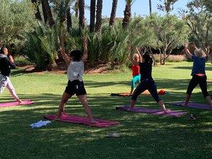 7 jours de vacances de yoga, cure de jeûne ou detox au jus dans un lieu magique à Marrakech