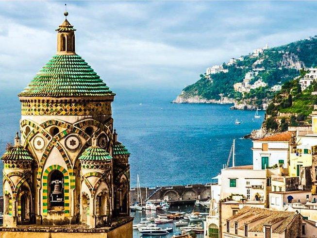 7 Days Cooking, Meditation, and Yoga Retreat on the Amalfi Coast, Italy