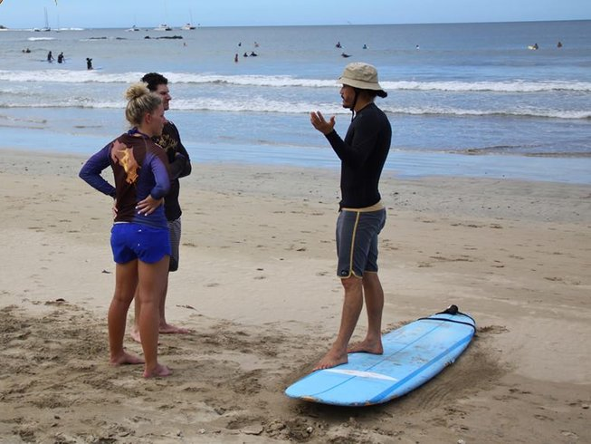 8 Days Beginners Surf Camp in Costa Rica