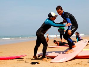 7 Days Summer Surf and Yoga Retreat in Portugal