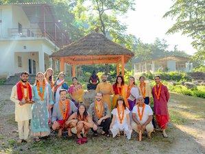 28 Day 300-Hour Hatha & Ashtanga Yoga Teacher Training Course in Adhiroha Rishikesh