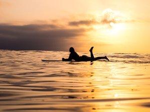 8 Days Fluidity Surf and Yoga Eco Camp at Porto Beach Paradise, Portugal