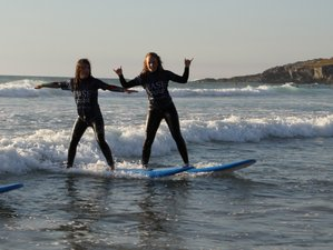 8 Day Surf Stoke - Surf Camp Escape and Garden Barbecue at Base Surf Lodge in Newquay