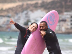 4 Day Surf Camp with an ISA surf Instructor in Tamraght, Agadir