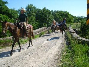 3 Day Peaceful Ranch Vacation and Horseback Riding Holiday in Lyndon, Kansas
