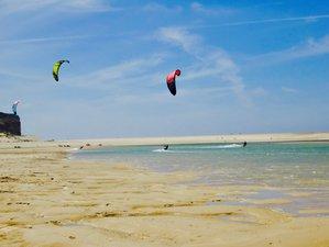 8 Days Kitesurfing Camp in Obidos, Portugal