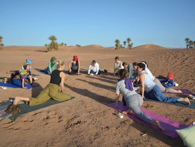 11 Days Morocco Yoga Retreat in the Sahara