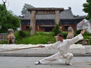 4 Year Learning Martial Arts in China Kungfu Academy