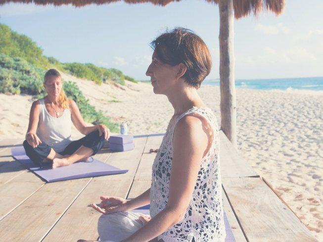 8 jours en stage de yoga et méditation dans les Caraïbes, Mexique