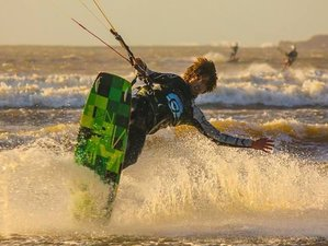 4 Days Intermediate or Advanced Kite Surf Camp Essaouira, Morocco