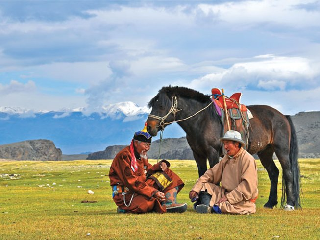 7 Days Guided Mongolia Motorcycle Tour