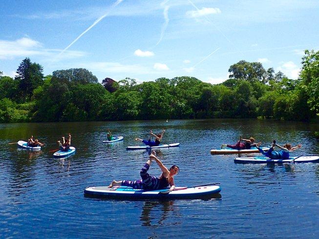 4 Days SUP and Vinyasa Yoga Retreat UK