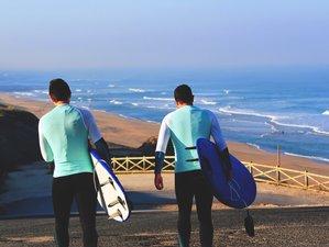 7 Tage Surfcamp Urlaub in einer Luxusvilla in Santa Cruz, Lissabon