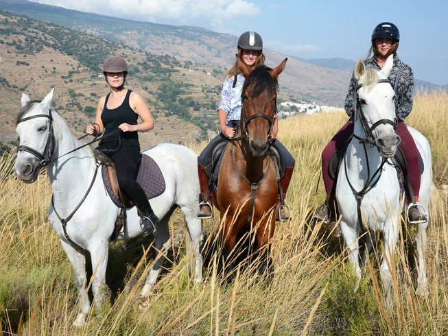 3 Days Adventurous Horse Riding Holiday in Andalucia, Spain