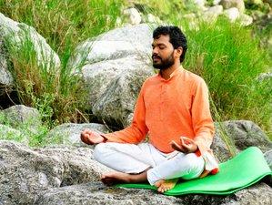 23 Days 200-hour Hatha and Ashtanga Vinyasa Yoga Teacher Training in Rishikesh, India