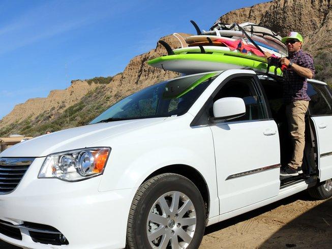 8 Days Budget Surf Camp California, USA
