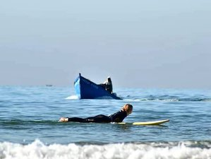 11 Day Yoga Combined with Surf Camp for Surfers of All Levels in Aourir, Agadir