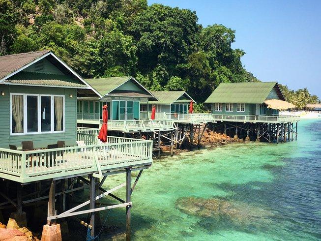 5 días viaje de lujo, buceo y retiro de yoga en Rawa Island, Malasia