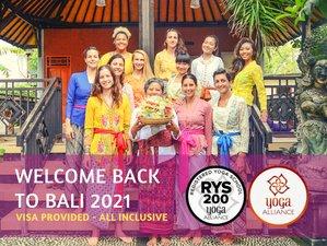 25 Day 200-Hour Hatha and Vinyasa Yoga Teacher Training in Bali