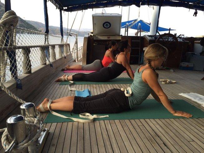 7 Tage Segeln und Yoga Urlaub im Herbst in der Türkei