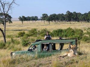 3 Days Roundtrip Safari in Maasai Mara Game Reserve from Kenya Coast