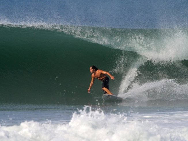 6 Days Tow-In Surf Camp in Michoacán, Mexico