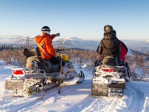 3 Day Guided Couples' Stay and Play Snowmobile Package in Central Newfoundland