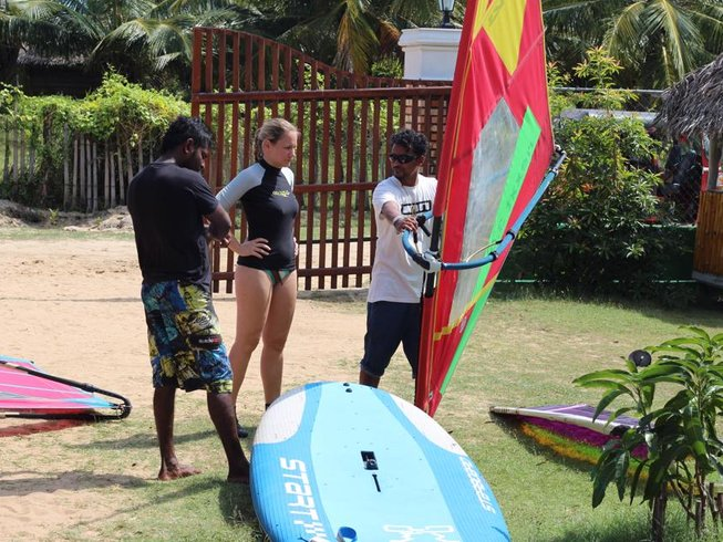 8 Days Windsurfing Surf Camp Sri Lanka