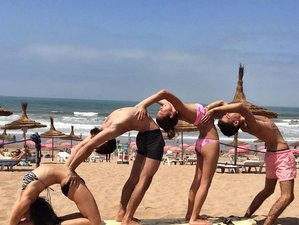 4 Days Yoga and Surf Holiday in Casablanca, Morocco