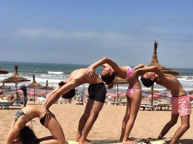 4 Days Yoga and Surf Retreat in Morocco