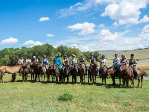 13 Day Yurt Comfort Horse Riding Holiday in Mongolia
