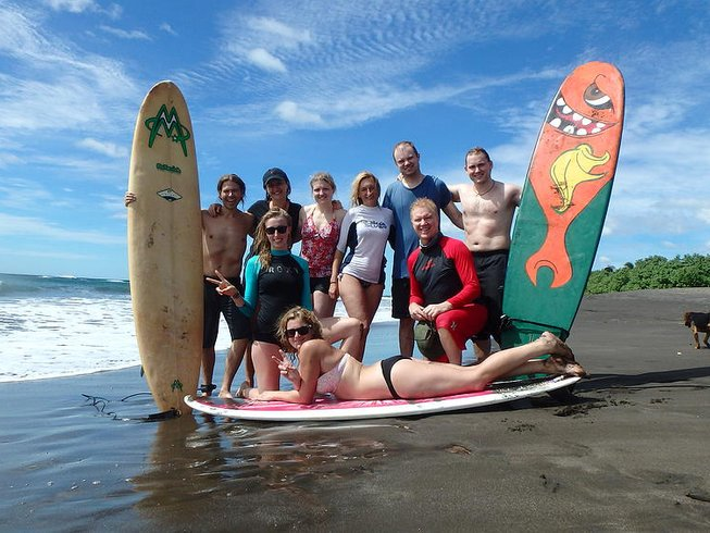 5 Days Surf and Yoga Retreat in Costa Rica