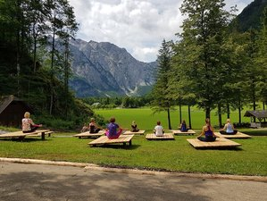 5 Days Autumn Yoga Retreat with Anja Jetter in Solčava, Slovenia