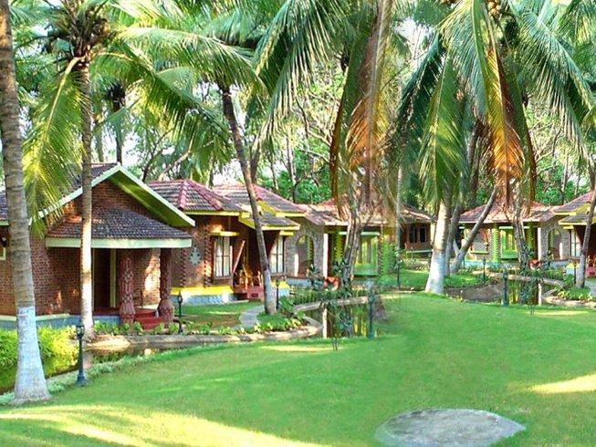 10 días retiro de yoga Ayurveda y meditación en Kerala, India