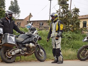 10 Days Guided African Safari and Motorcycle Tour in Uganda