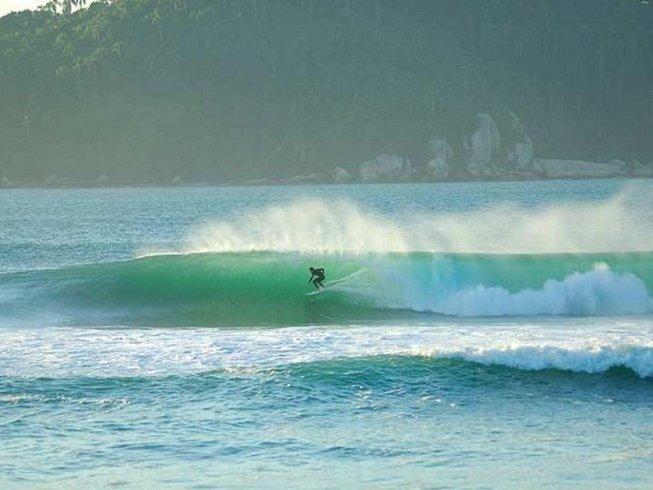 14 Days Standard Surf Camp in Florianopolis, Santa Catarina, Brazil