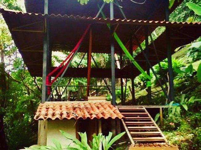 8 Days Aerial Silk Yoga And Surf Holiday In Santa Teresa Costa