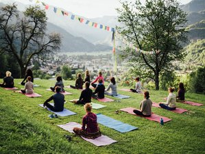 8 jours en stage de Yoga, randonnées et cuisine végétarienne dans les Alpes, France