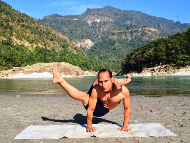 8 Days Yoga Rejuvenation Holiday in Rishikesh, India