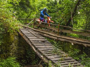 5 Days Guided Enduro Motorcycle Tour in Lousã, Portugal
