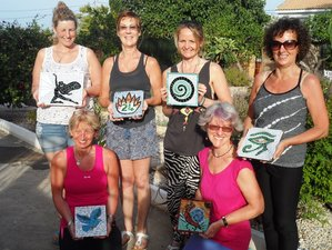 5 Days Mosaic Making and Yoga Holiday in Murcia, Spain