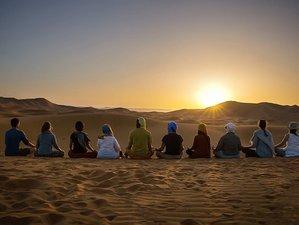 10 jours en voyage de yoga dans le désert marocain
