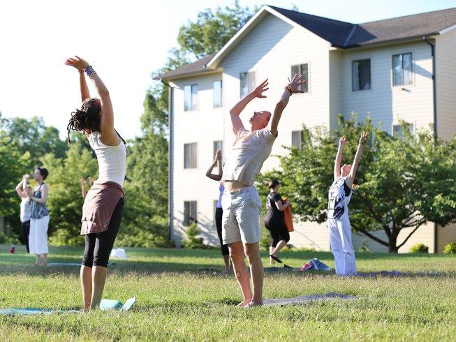 4 días retiro de yoga y meditación personal en Virginia, EUA