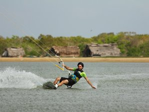 8 Days Great Kitesurfing Course in Margarita Village Kalpitiya, Sri Lanka